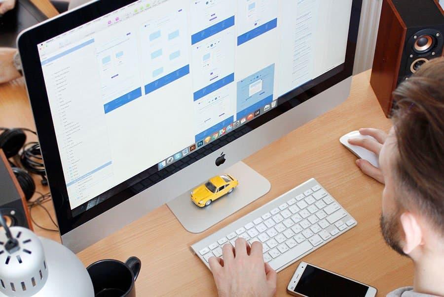 ejemplos de diseño de arquitectura de la información de una página web