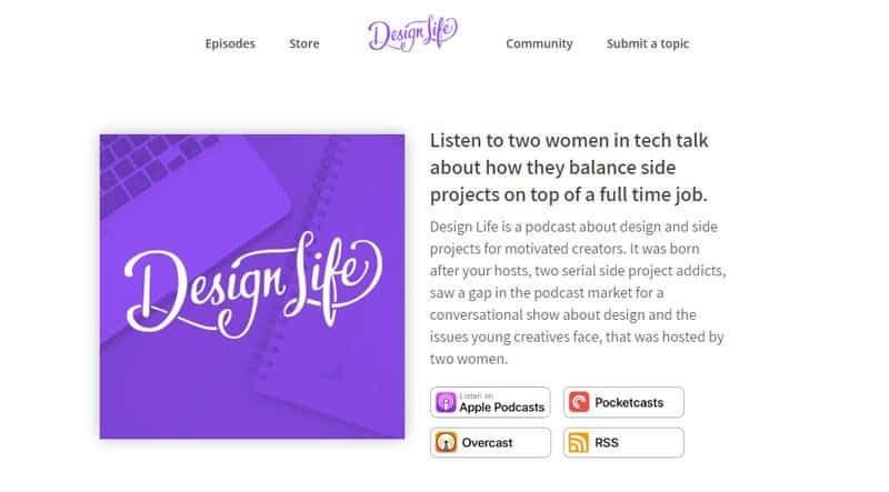 mejores podcast sobre diseño web y gráfico en español e inglés
