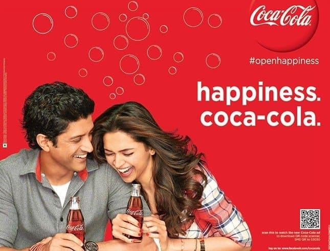 website color picking - coca cola