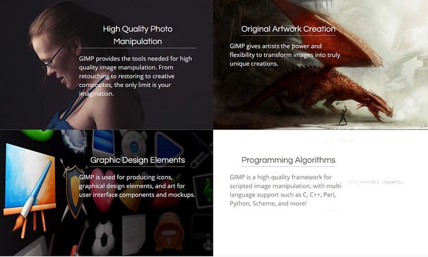 Example of GIMP