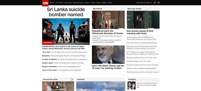 A media website