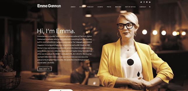 A personnal website