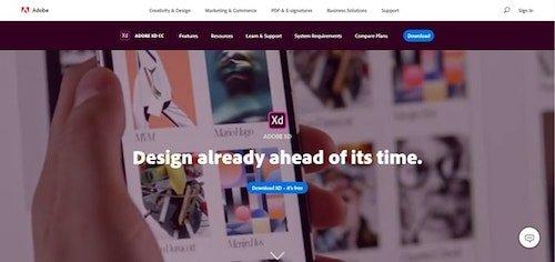 Web Design Tools Adobe XD