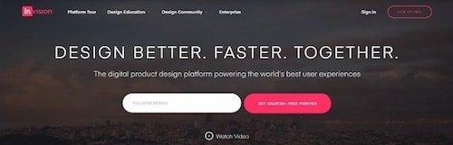 Web Design Tools InVision